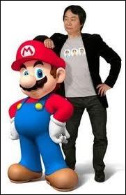 Qui a créé le personnage de Mario ?