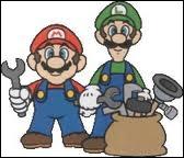 Quel métier font Mario et Luigi ?