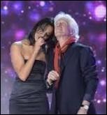 Avec quel célèbre chanteur des années 1970 chante-t-elle en duo   Les jours heureux  dans l'album  Duos de mes chansons  ?