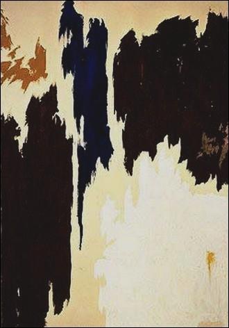 Sans titre, 1965 par un peintre américain leader de la première génération de l'expressionnisme abstrait (1904-1980).