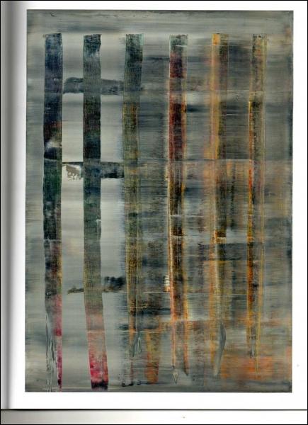 Abstraktes Bild, 1992 par un peintre allemand né en 1932 dont l'oeuvre est tantôt figurative, tantôt abstraite.