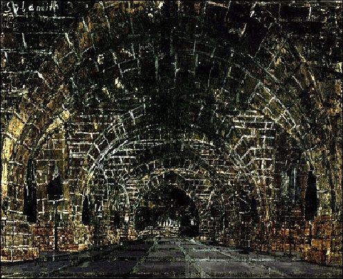 Sulamith, 1983 par un peintre et plasticien allemand né en 1945