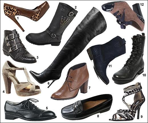La tendance chaussure de cet Automne/hiver 2012/13 :