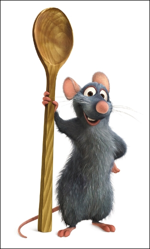 Dans  Ratatouille , comment s'appelle le petit rat qui rêve de devenir cuisinier ?