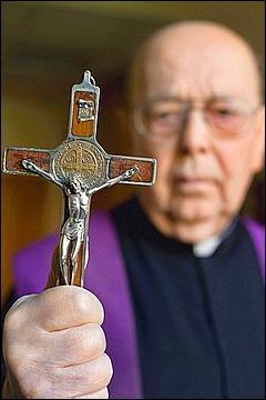 Quelle formule d'exorcisme est utilisée pour chasser le diable ?