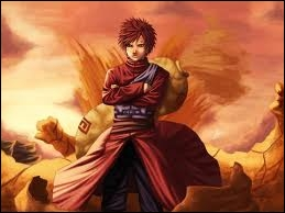 Qui est ce personnage, il est le jinchûriki de Shukaku et contrôle le sable ?