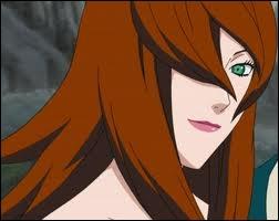 Qui est ce personnage, elle est le Mizukage actuel et son élément est le Yôton ?