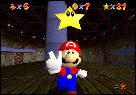 Dans quel jeu voit-on pour la première fois Mario en 3D ?