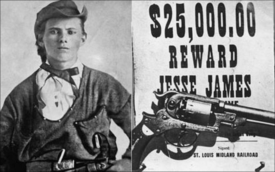 Qui a tué le 3 avril 1882 à Saint-Joseph dans le Missouri, le fameux braqueur de trains et de banques appelé Jesse James ?