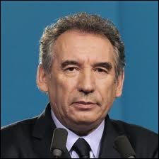 Quelle couleur a été choisie par le MoDem de François Bayrou ?