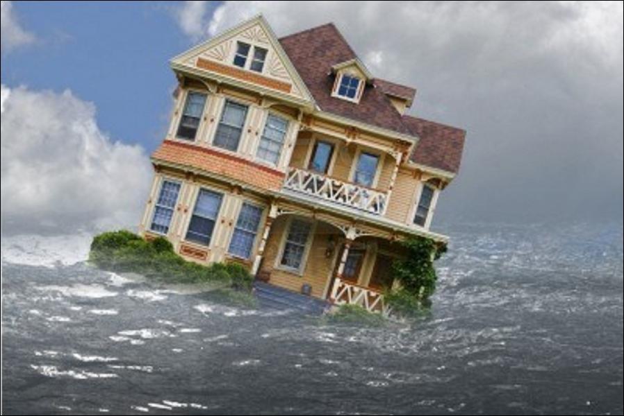 Quelle est l'élévation moyenne du niveau de la mer depuis 1880 ?