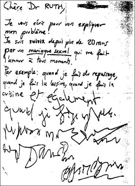 Il est hautement probable que cette lettre a été écrite par Nafissatou Diallo dans une des chambres de l'hôtel Sofitel de New York, le :