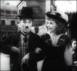 Qui est la partenaire de Chaplin dans ce film ?