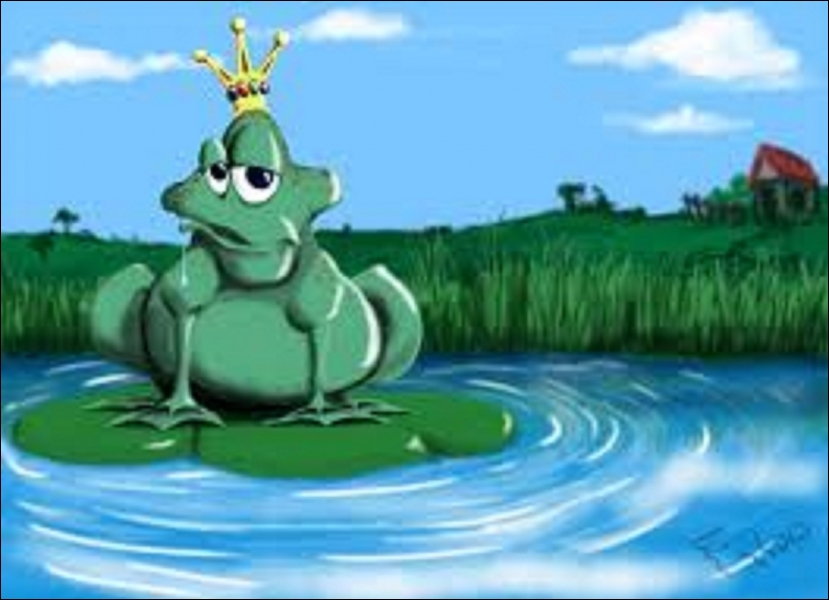 Je suis dans l'étang au fond du jardin. Je me cache au début de la nuit. On me voit deux fois dans l'année, une fois en automne, jamais en été. Qui suis-je ?