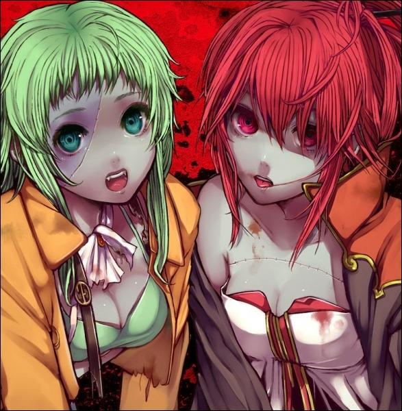 La chanson  Rotten Rotten Zombie  est chantée par Gumi et ...