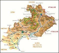 Quelle ville est située dans le département des Hautes-Alpes ?