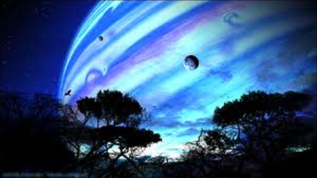 L'action se déroule sur une lune de géante gazeuse, laquelle ?