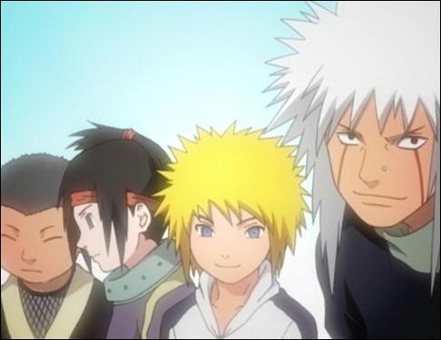 Attention ! Qui est le sensei du père de Naruto
