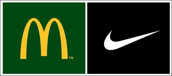 Lequel de ces 2 logos est le logo de Nike ?