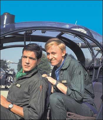 Quel était le titre de la chanson interprétée par Johnny Hallyday sur l'air du générique d'une série télé de la fin des années 60, racontant les aventures de Tanguy et Laverdure ?