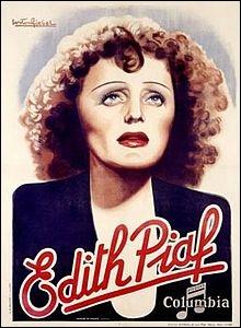 Dans laquelle de ses chansons Edith Piaf dit-elle :  Le ciel bleu, sur nous peut s'effondrer, et la Terre peut bien s'écrouler, peu m'importe si tu m'aimes je me fous du monde entier  ?