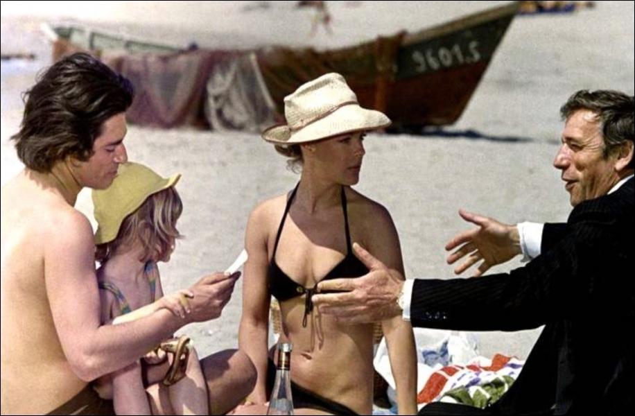 Deux hommes aiment la même femme, merveilleuse Romy Schneider, dans ce film de Claude Sautet. C'est :