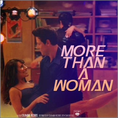 Quels couples chantent et dansent sur   More Than a Woman  ?