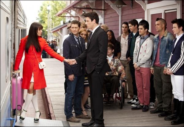 Sur quelle chanson Finn et Rachel se disent-ils au revoir ?