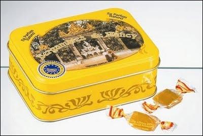 La bergamote, petit bonbon fabriqué depuis 1857 bénéficie d'un IGP. D'où suis-je ?