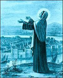 Attila ravage la Gaule et pille de nombreuses villes en massacrant la population. Quelle sainte héroïne aurait sauvé la ville de Paris grâce à ses prières ?