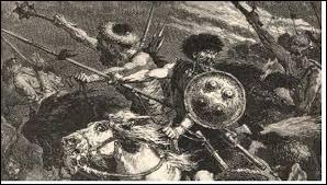 """Complétez les paroles qu'Attila aurait prononcées pour épouvanter ses ennemis : """" Là où passe mon cheval ..."""""""
