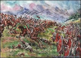 Quelle grande victoire remporte-t-il en 451, repoussant l'armée d'Attila hors de Gaule ?