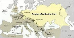 En 445, Attila devient le seul roi de l'empire hunnique en assassinant un membre de sa famille. De qui s'agit-il ?