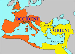 Après avoir soumis les peuples barbares, Attila décide de défier le puissant Empire romain. Quelle dynastie régnait sur les Empires romains d'Occident et d'Orient ?