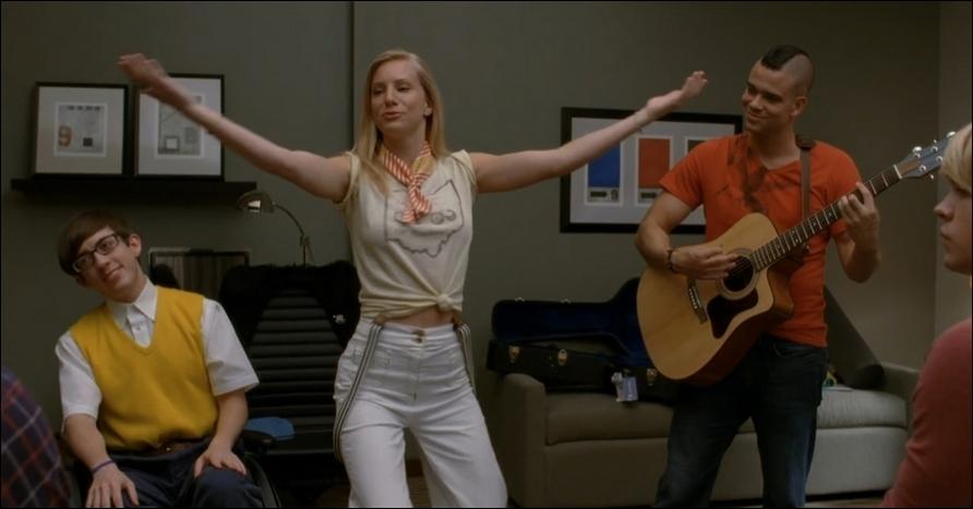 Dans quel épisode Brittany chante-t-elle  My cup  ?