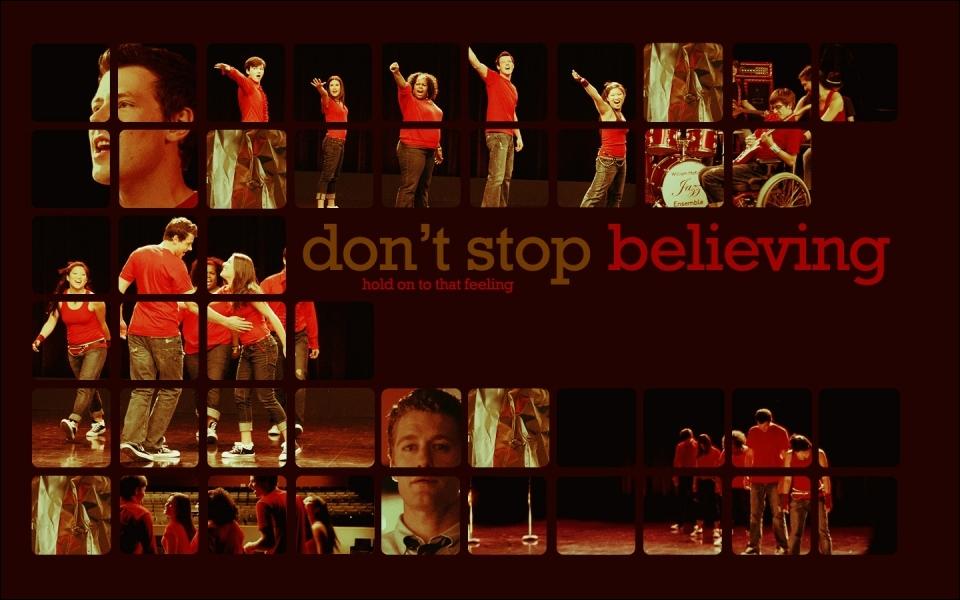 Dans quel épisode la chanson  Don't stop believing  n'est pas chantée ?