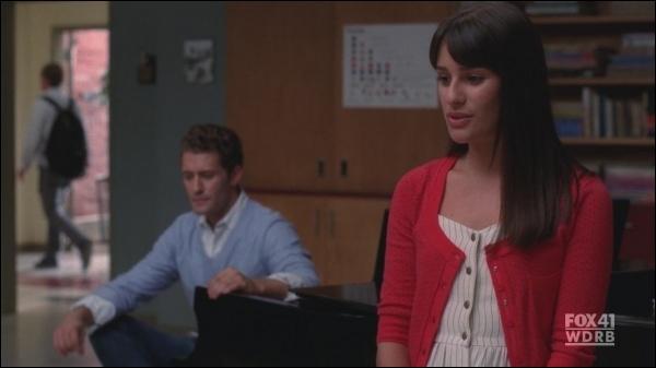 Saison 2 : dans quel épisode Rachel chante-t-elle  The only exception   à Finn ?