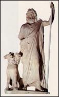 De quel dieu, maître des enfers, ce chien était-il le fidèle gardien ?