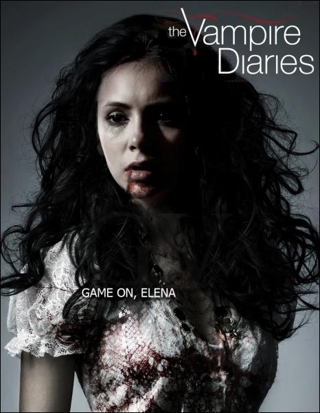 A qui appartient le sang qui achève la transition d'Elena ?