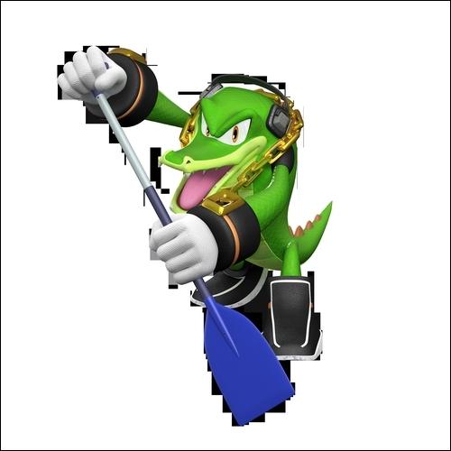Vector est-il un personnage jouable dans  Mario et Sonic aux jeux Olympiques de Londres 2012  ?