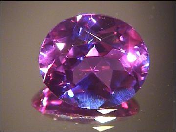 Variété de chrysobéryl, ma couleur change avec l'éclairage, les plus beaux spécimens peuvent dépasser le prix d'un diamant, je suis l'alexandrite, d'où vient mon nom ?