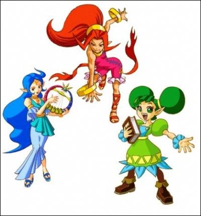 Qui sont ces trois jeunes filles ?