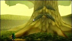 Dans  Ocarina of Time , quel est le nom du grand arbre de la forêt Kokiri, ayant pris soin de Link depuis son enfance après que la mère de ce dernier, mourante, l'eut confié à la forêt Kokiri ?