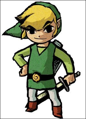En général, dans les jeux Zelda, Link ...