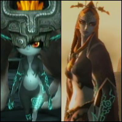 Dans  Twilight Princess , Link, victime d'une malédiction l'ayant transformé en loup, fait équipe avec un nain étant en réalité la princesse du Crépuscule. Quel est son nom ?