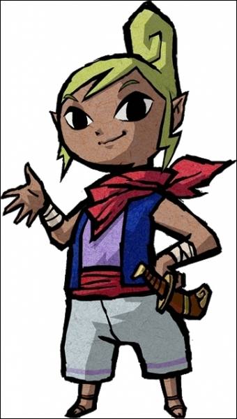 Dans  Wind Waker  et  Phantom Hourglass , quelle est la seconde identité de Zelda ?