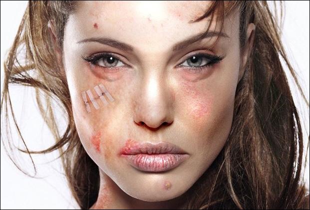 Reconnaissez-vous cette jolie actrice un peu bourrue au réveil ?