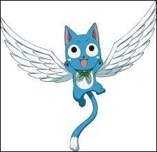 Quel est le nom de ce chat bleu qui vole ?