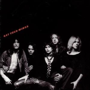 Quel groupe a sorti l'album  Get Your Wings  ?