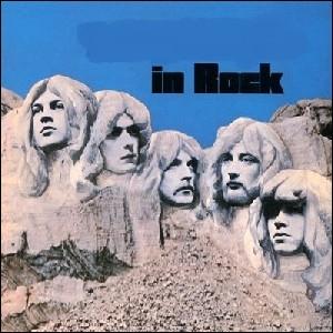 Quel groupe a sorti l'album  In rock  ?